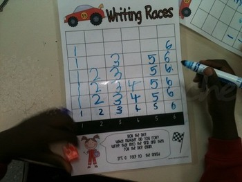 Number Writing Races