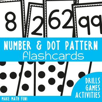 Number and Subitizing Flashcards - A Teaching Essential