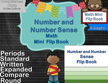 Number and Number Sense Foldable & Mini Flip Book