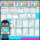 Number and Place Value Worksheet Mega Pack