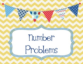 Number and Word Problems