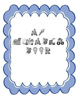 Number book -  All things numbers FREEBIE