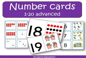 Number pack 1 through 20