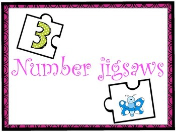 Number jigsaws