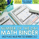 Number of the Day Binder Bundle - Daily Place Value Practice