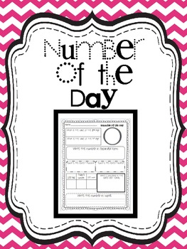 Number of the Day {Daily Common Core math for grades 4-5}