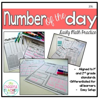 Number of the Day - Daily Number Sense Practice up to 1,000