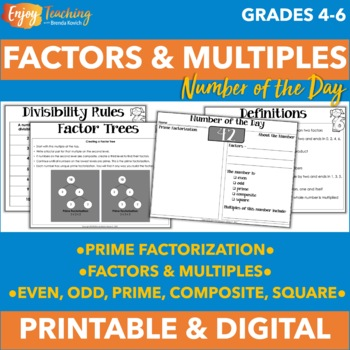 Number of the Day - Exploring Factors with Prime Factorization