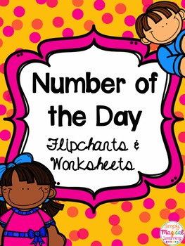 Number of the Day: Flipcharts & Worksheets