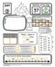 Number of the Day {Going Camping!} First Grade Math July