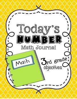 Number of the Day Math Journal