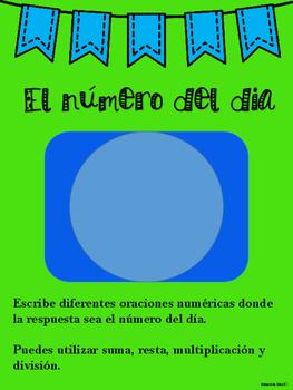 Number of the Day / Numero del dia