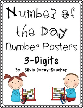 Number of the Day Posters: 3-Digits