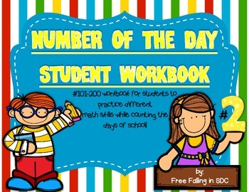 Number of the Day Student Wordbooks #2 (interactive work f