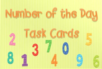 Number of the Day Task Cards