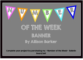 Number of the Week Banner