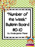"""Number of the Week"" Bulletin Board #0-10"