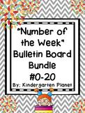 Number of the Week Bulletin Board BUNDLE #0-20