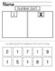 Number of the Week Bundle: Numbers 1-10 - Number Worksheet