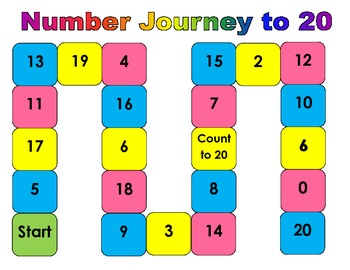 Number recognition Game to 20