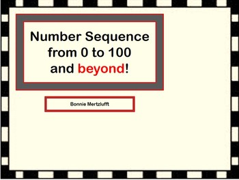 Number sequence 1-100 and beyond
