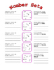 Number systems, number sets, hierarchy of numbers lesson/a