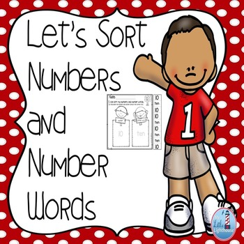 Number sorts ( Number and Number Words Sorting Activity)