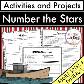 Number the Stars: Reading Response Activities and Projects