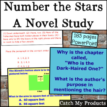 Number the Stars Complete Literary Unit for Power Point