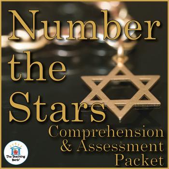 Number the Stars Comprehension and Assessment Bundle