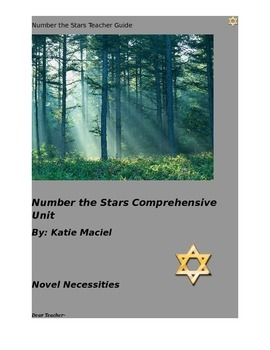 Number the Stars Comprehensive Unit Teacher Guide