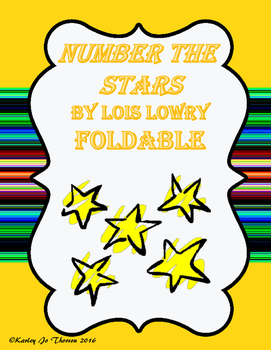 Number the Stars Foldable