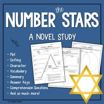Number the Stars Complete Literature Unit with Focus on Co