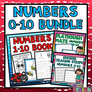 Numbers 0-10 Bundle: Worksheets, Number Posters, Tracing S