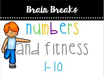 Numbers (0-10) & Fitness Brain Break