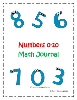 Math Journal: Numbers 0-10