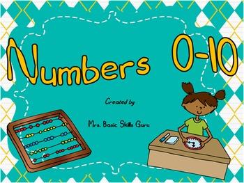 Numbers 0-10 Practice!