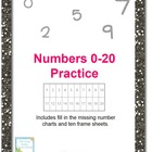 Numbers 0-20 Activity Sheets