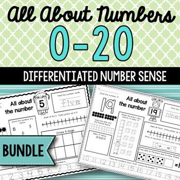 #thriftythursday Numbers 0-20 Bundle