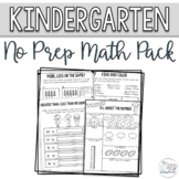 Math Pack for Kindergarten. Counting and Cardinality Numbe