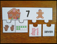 Number Sense 0-20 Gingerbread Puzzles