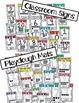 Numbers 0-20 Classroom Signs & Playdough Mats