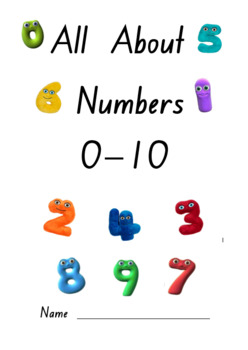 Numbers 0 to 10 Booklet