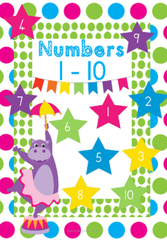 Fun Fair Circus with numbers 1 - 10