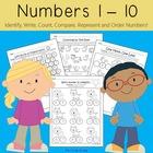 Numbers 1-10 (Kindergarten Math)