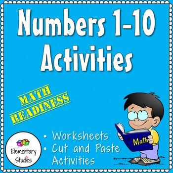 Numbers 1-10 Activities
