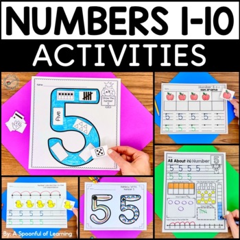 Numbers 1-10 Activities GALORE!