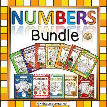 Number Recognition 1-10-BUNDLE