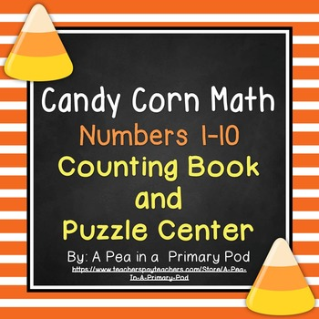 Numbers 1-10 (Candy Corn Counting Book and Puzzle Center)