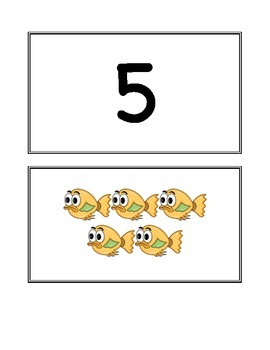 Numbers 1-10  A Number Matching Activity